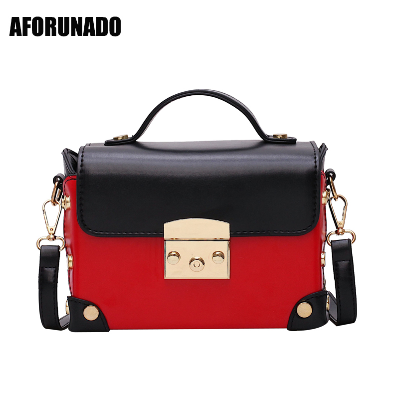 Luxury Handbags Women Bags Designer Patchwork Shoulder Crossbody Bag For Women 2020 Handle Stylish Chain Small Square Tote Bag