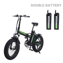 Electric Bike 4.0 Fat Tire Beach Cruiser Booster Folding Electric Bicycle 48V E-