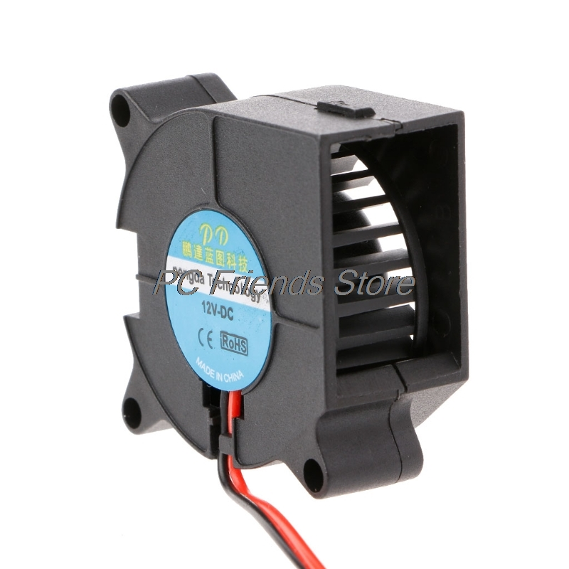 2-Pin Brushless Cooling Cooler Centrifugal Blower Fan <font><b>4020</b></font> 40mmx40mmx20mm DC <font><b>12V</b></font> image