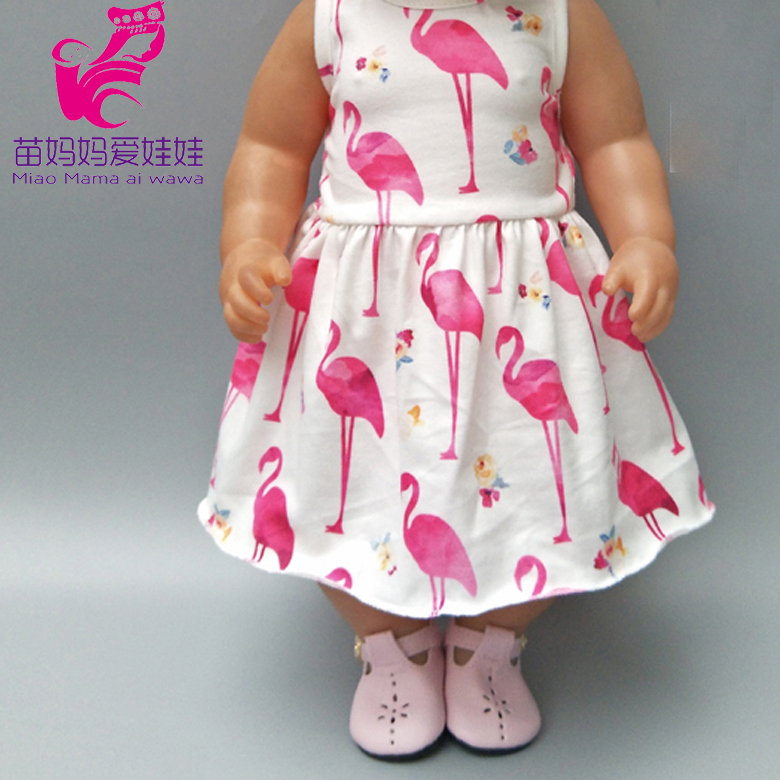 """Summer Flamingo Pant Set Fits Wellie Wishers 14.5/"""" American Girl Clothes"""