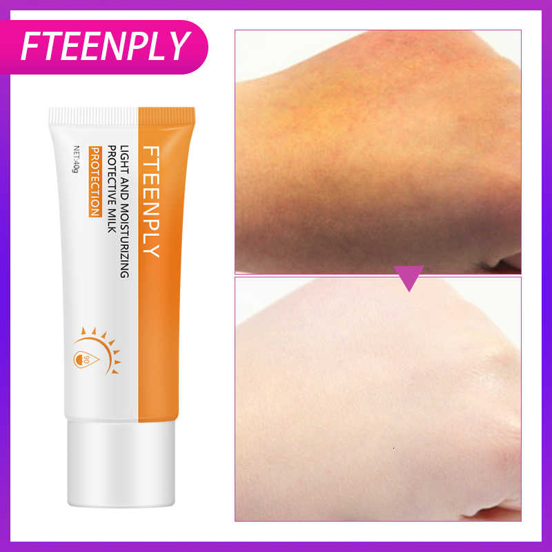 FTEENPLY ครีมกันแดด Sun Screen Whitening Anti-Aging Oil-control Moisturizing Protector Solar Sun Cream SPF 90