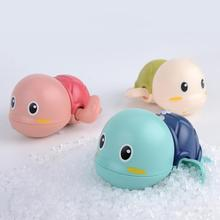 Baby Bath Toys Cute Animal Turtle Baby Shower Baby Swim Play Toy Swimming Pool Accessories Baby Play In Water Beach Toys cheap CN(Origin) Plastic Tortoise Clockwork Dabbling Toy Unisex 0-12 Months 13-24 Months 2-4 Years 5-7 Years 8-11 Years 14 years old