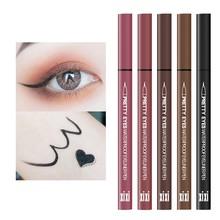 Xixi colorido líquido delineador matiz olhos maquiagem à prova dlong água de longa duração de secagem rápida lápis lápis moda cosméticos