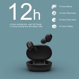 Image 2 - سماعة أذن شاومي ريدمي إيردوتس S سماعة أذن TWS لاسلكية ستيريو تعمل بالبلوتوث 5.0 SBC سماعة أذن صغيرة لطيفة صندوق شحن أوتوماتيكي