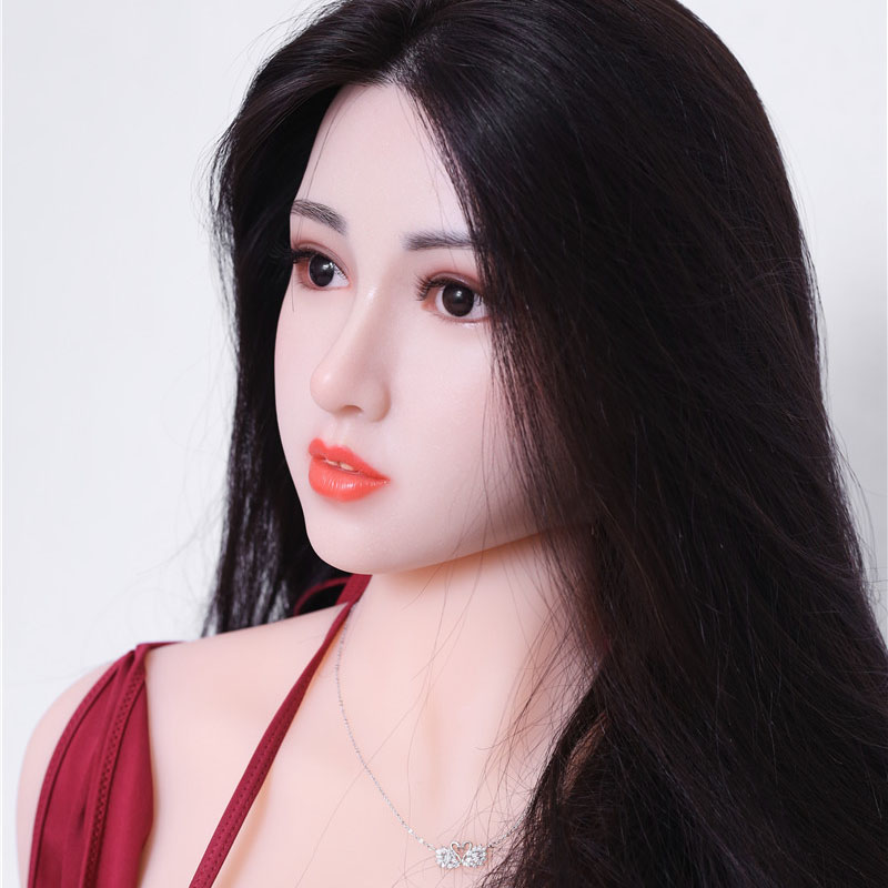 <font><b>166cm</b></font> solid Silicone <font><b>Sex</b></font> <font><b>Doll</b></font> Silicone Head + TPE Body Life Size Real Love <font><b>Dolls</b></font> Silicon <font><b>Sex</b></font> <font><b>Doll</b></font> Realistic Metal Skeleton image