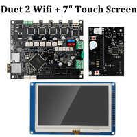 """Duet 2 Wifi V1.04 Scheda Madre Clone Reprap Firmware 32bit Duet2 Scheda WiFi + 4.3 """"Pannello di Controllo Touch Screen 3D parti della stampante"""