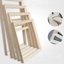 Wood Frame For Canvas Oil Painting Factory Price Picture Nature DIY Frames For Diamond
