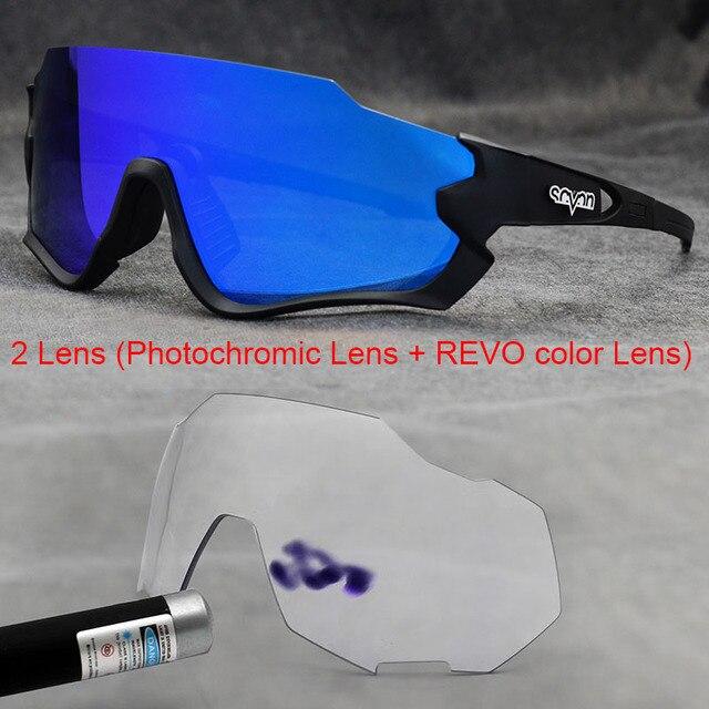 Polarizado óculos de ciclismo homem esporte óculos de sol photochromic uv400 5 lente deportivas polarizadas hombre gafas oculos ciclismo 6