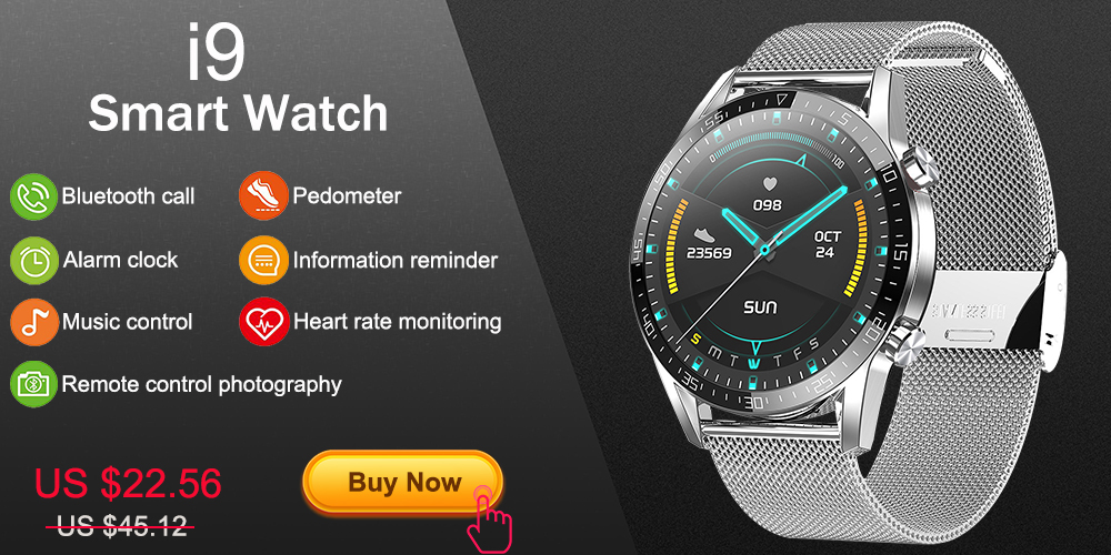 He8d76f25974841ceab75cabcc4350d78f 2020 New L6 Smart Watch IP68 Waterproof Sport Men Women Bluetooth Smartwatch Fitness Tracker Heart Rate Monitor For Android IOS