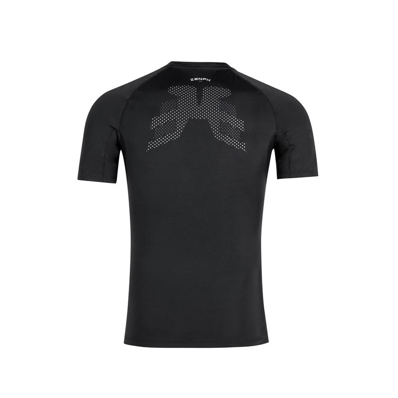 Zenph умная спортивная одежда, летняя футболка для фитнеса и бега, высокая эластичность, быстросохнущая, мониторинг в реальном времени, смарт ... - 5