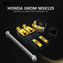 Motorcycle Accessories Rear Fork Extension Stretch Kit For Honda Grom MSX125 MSX 125 2013 2014 2015 2016 2017 2018 2019