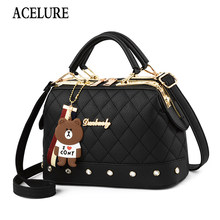 Female Crossbody Bags for Women High Quality Leather Famous Brand Luxury Handbag Designer Sac A Main Ladies Shoulder Bag ACELURE(China)