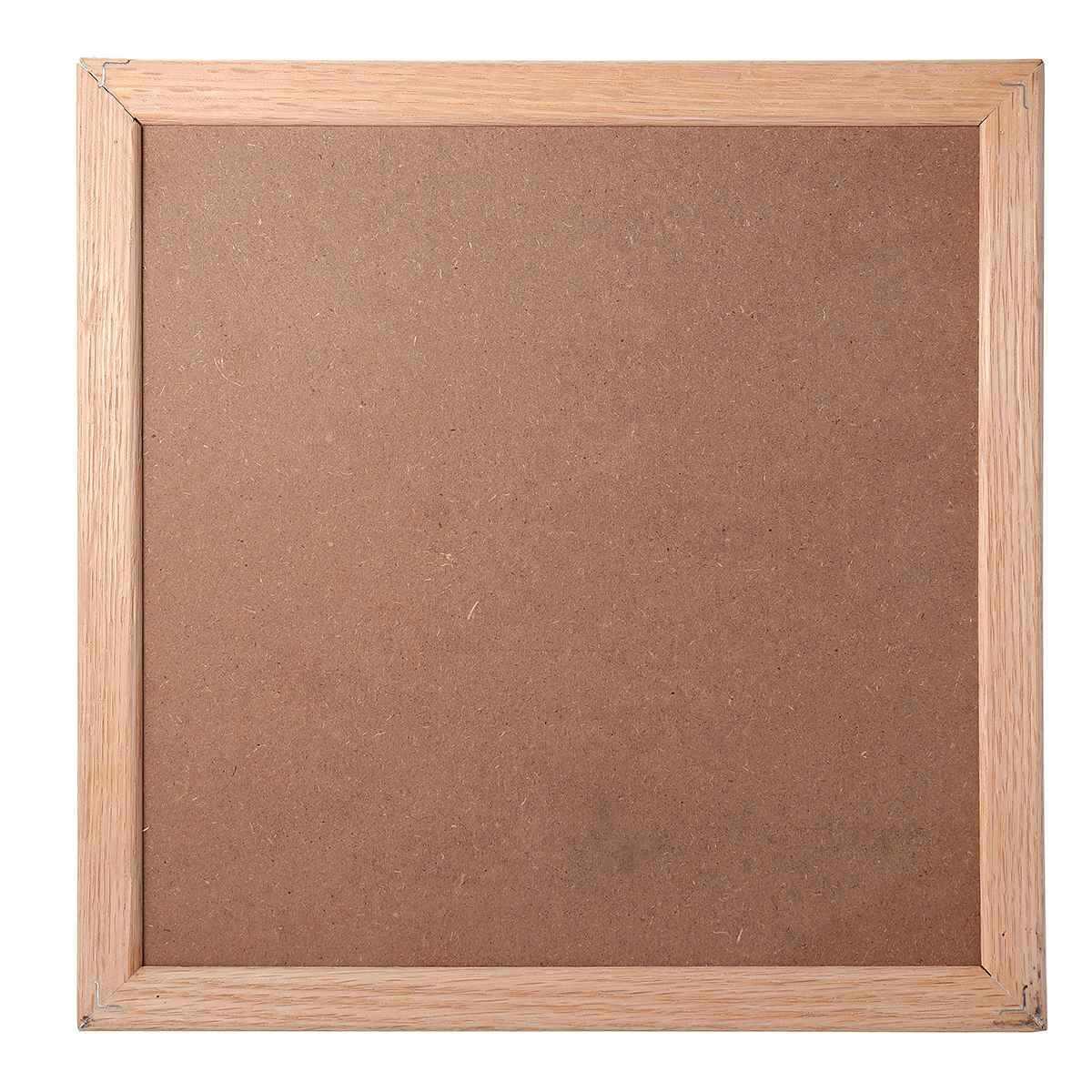 25.4*25.4*2 ซม.ไม้ Felt Letter Board ป้ายข้อความผู้ถือกรอบสัญลักษณ์ตัวเลขตัวอักษร Board Home Office โรงเรียน Decor