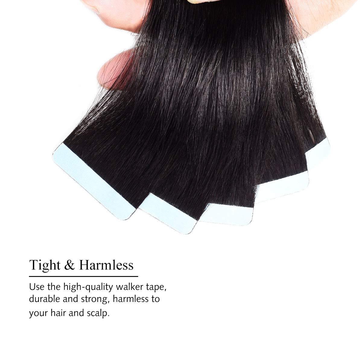 remy dupla face fita adesiva extensões de cabelo 20 40pcs fita ons
