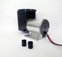 12 24 V Volt Mini Brushless DC Diaphragm Air Inflate&Suction Vacuum Pump 80 kPa vacuum orion vacuum pump krx3 p v 03