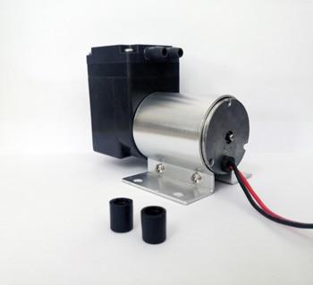 12 24 V Volt Mini Brushless DC Diaphragm Air Inflate&Suction Vacuum Pump 80 kPa vacuum