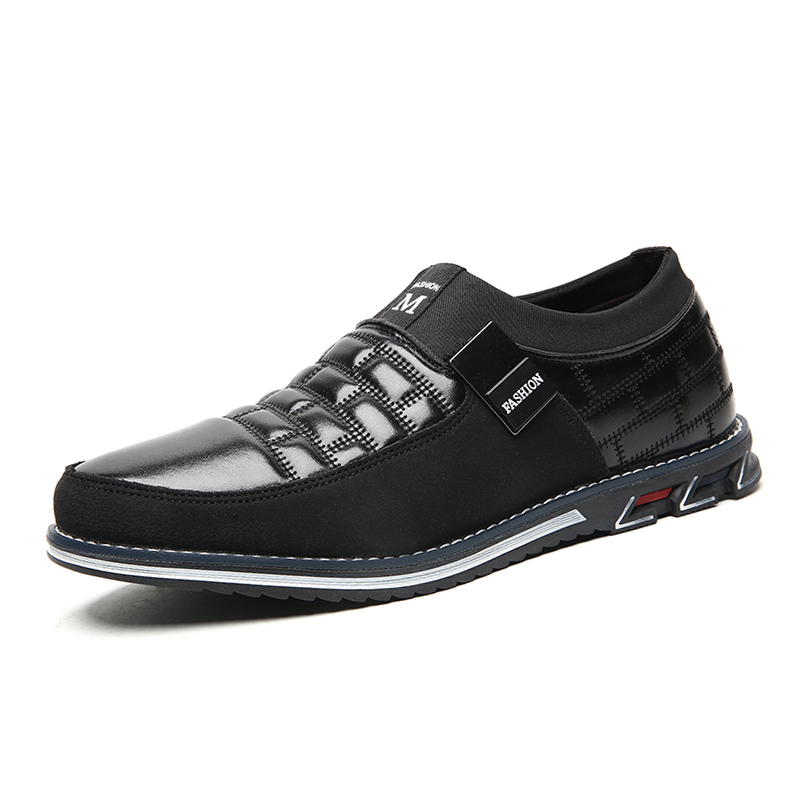 Men genuine leather shoes High...