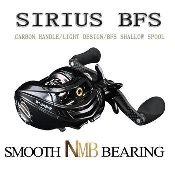 SIRIUS BFS Reel 169g Ultralight Coil Baitcasting Fishing Reels Fishing Bait cast Reel For perch tilapia trout bass Casting wheel