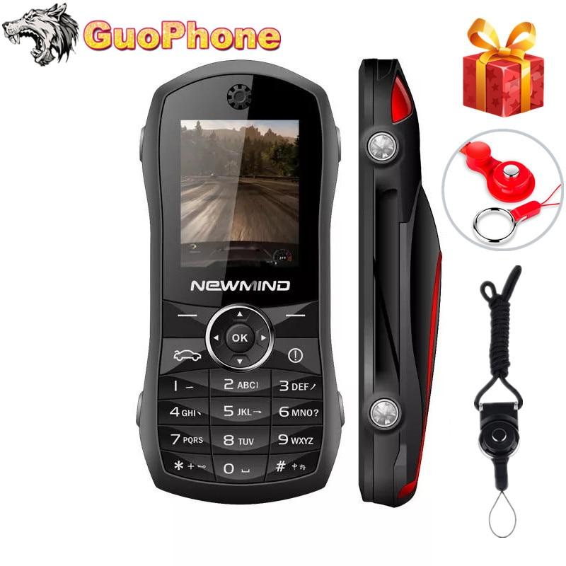 F1 Super Mini Push Button Mobile Phone 1.8