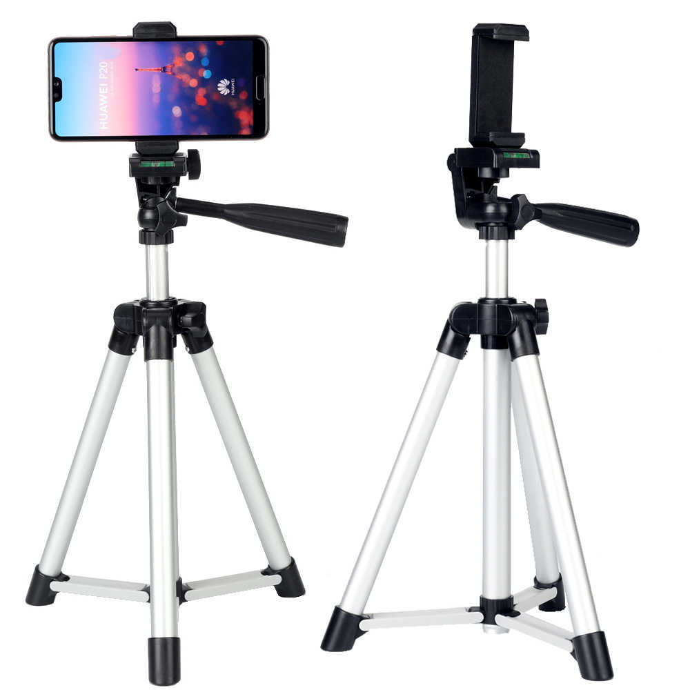 Treppiedi di Macchina Fotografica Set Kit Regalo di Video Telefono Del Supporto Del Basamento Desktop per Iphone 11 Pro 6S 7 8 Più Xr xs Max per Samsung S10 + S20 Ultra