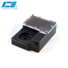 Water-Tank Icemancooler Ncase Ddc-Reservoir for M1 Cabinet V4 V5 V6 Support 8cm 9cm Fan-Holes