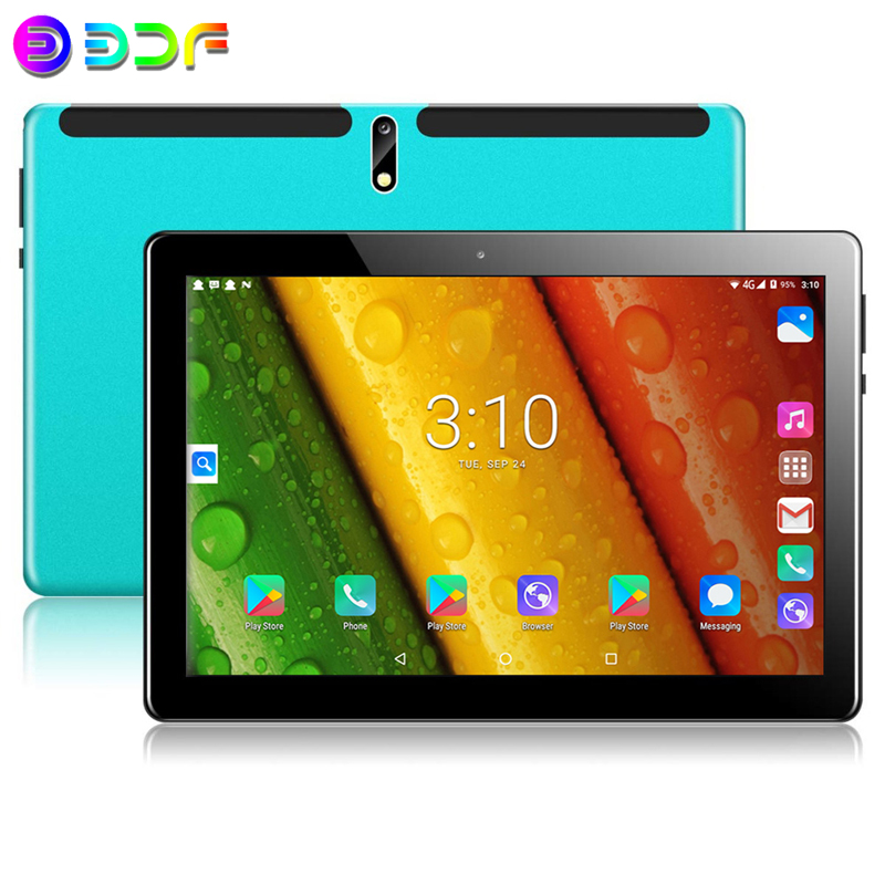 New 10.1 Inch Tablet PC 2.5D Steel Screen Android 9.0 Tablet 4G Phone Call 2GB/32GB ROM Bluetooth 4.0 Wi-FI Tablets/Tablet