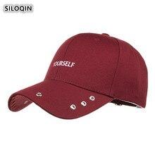 SILOQIN  2019 Summer Autumn New Trend Womans Baseball Cap Man Hip-hop Caps Adjustable Gorras Leisure Motion Tourism Tongue