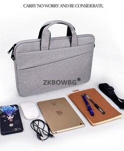 """Image 2 - מחשב נייד תיק כתף תיק שרוול מחברת מקרה עבור Lenovo ThinkPad 15.6 """"ideapad 14 אינץ יוגה 12.5 11 13.3"""" ultrabook שקיות"""