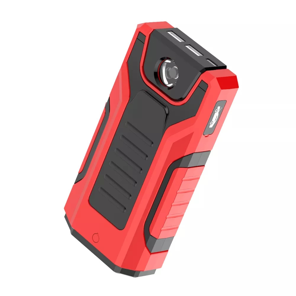 16000mAh Portable Car Jump Starter 1000A Emergency Battery Booster Powerbank Waterproof With LED Flashlight USB Port