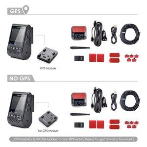 Image 5 - VIOFO Cámara de salpicadero Dual A129 Pro Duo 4K, DVR 2020, 4k, modo de estacionamiento GPS, sensor Sony, WIFI, 4K, DVR