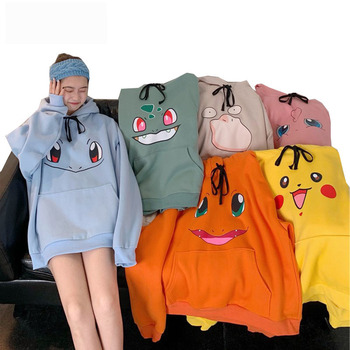 Sweatshirt Women Girls Hoodies Harajuku Women's Hooded Casual Pullover Tops Plus Size Female Hoodie Pullovers for Woman Clothes halloween hoodies printed pumpkin gothic woman clothes harajuku vintage sweatshirt women plus size japanese pullovers