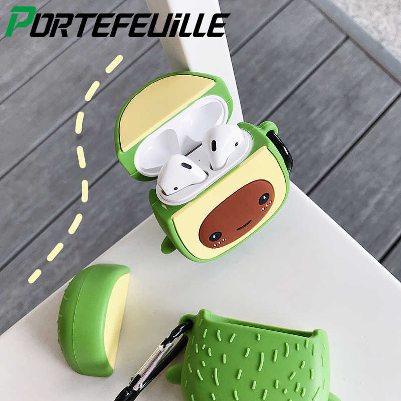 Sweet Fruit Style Wireless Headset Soft Silicone Case For Apple Airpods 2 1  Protective Cover Air Pods Earphone Cases Accessories