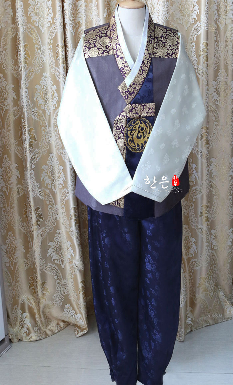 South Korea Imported Hanbok Fabric / Korean Latest Models / Men's Hanbok / Wedding Hanbok