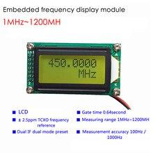 Lcd medidor de capacitância indutância mesa freqüência tester digital cymometer PLJ-0802-E lcd0802 medidor para ham rádio kit diy