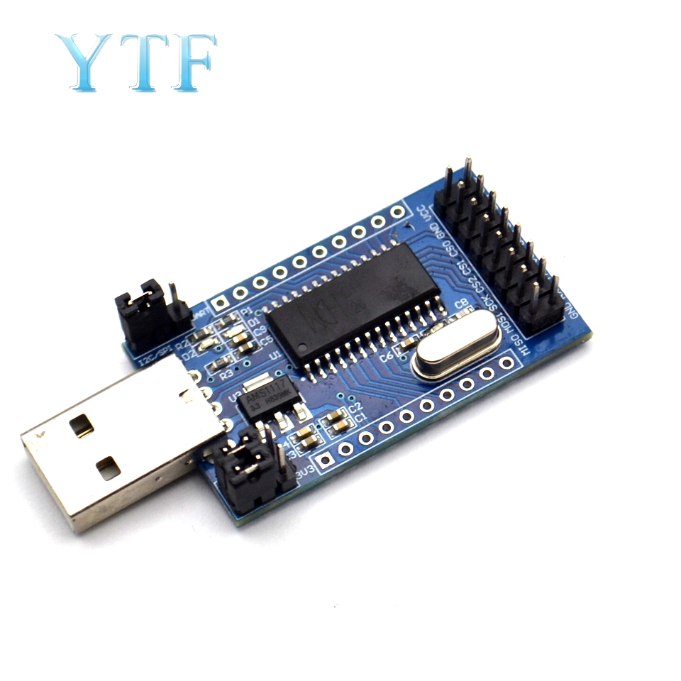 CH341 Programmer USB To UART IIC SPI I2C Convertor Parallel Port Converter Onboard Operating Indicator Lamp Board Module