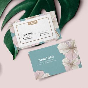 Image 5 - 90X54mm 300gsm לבן נייר עם שני הצדדים הדפסה מלא צבע הדפסת כרטיס ביקור