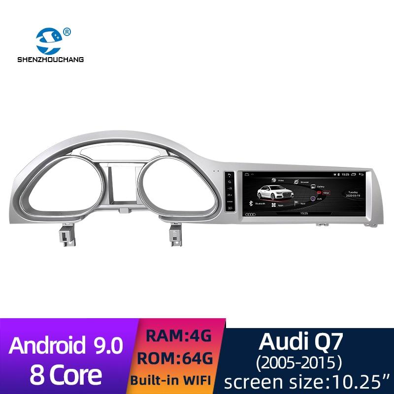 Android 9,0 система 8 ядер HD 1280*480 сенсорный экран автомобильное радио DVD GPS Multimeida плеер для Audi Q7 2005 2009/2010 2015|Мультимедиаплеер для авто|   | АлиЭкспресс
