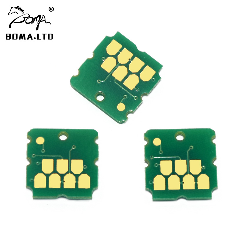 BOMA.LTD Maintenance Chip For <font><b>Epson</b></font> T04D0 C13T04D000 L7160 L7180 ET-<font><b>7700</b></font> ET-7750 Waste <font><b>Ink</b></font> Maintenance BOX Tank <font><b>Cartridge</b></font> Chip image