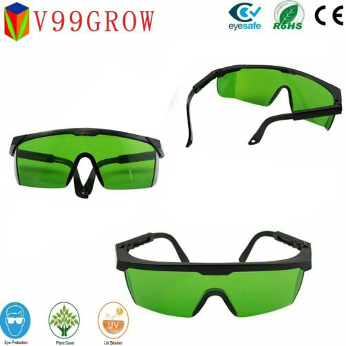 Plants Grow Light Glasses For Grow Light Blocking Ultra-Violet Protect Eyes Plant Visual Eye UV Glasses