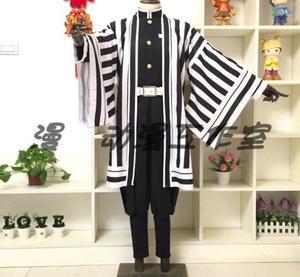 Image 4 - Anime Demon Slayer Kimetsu No Yaiba Iguro Obanai Cosplay Wigs Costumes White Snake Props