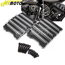 Motorcycle Rocker Box Top Cover Case Black For Harley Touring Twin Cam Softail Dyna Fat Boy Bob Glide 1999-2017 цена 2017