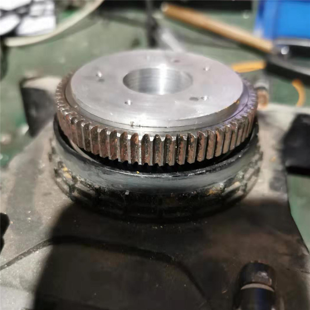 ​Support Modification Part Durable Rotary Gear Plate Slewing Gear for <font><b>1/18</b></font> Huina 580 Excavator image