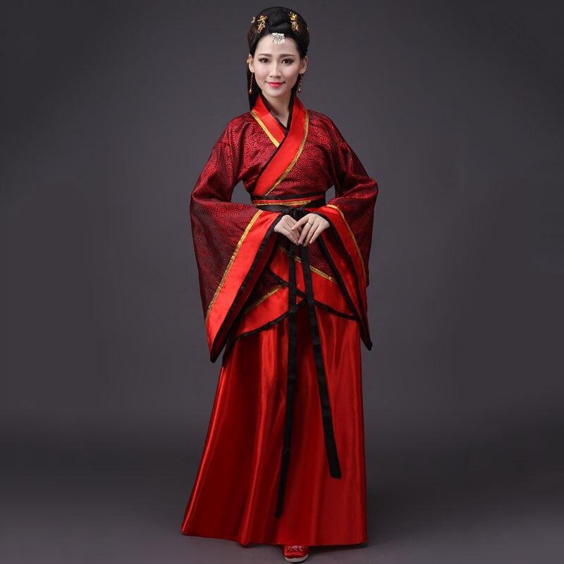 Image 5 - 2020 национальный костюм ханьфу Древний китайский Карнавальный Костюм Древний китайский Hanfu женская одежда Hanfu женское китайское платье для сценыТанцевальный костюм для китайских народный танцев    АлиЭкспресс