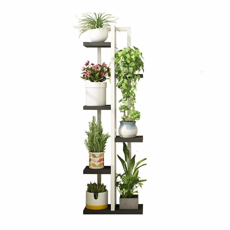 Urbano Madera Suporte Flores Plantenrekken Ladder Garden Shelves For Outdoor Stand Balcony Flower Rack Dekoration Plant Shelf