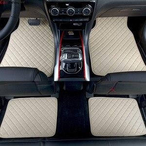 Car Believe car floor mats For renault logan megane 2 captur kadjar fluence laguna 2 scenic koleos Espace accessories carpet rug(China)