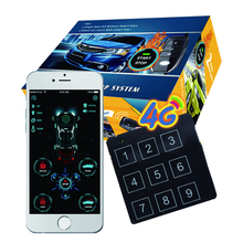 Car-Alarm-System Start-Button Smart-Phone-Control Remote-Engine Cardot 4g Original App