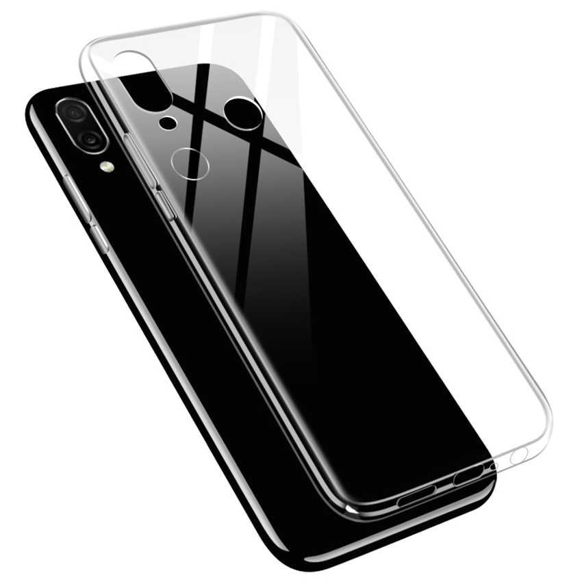Suave claro caso de Huawei honor 8 9 10 Lite 8X 8A 8C 9X 9i 20i 20 V10 V9 jugar note 10 Magic 2 funda de silicona transparente