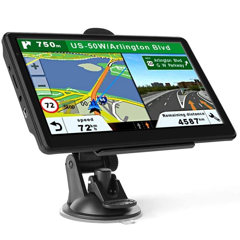 GPS per auto 5 Pollici/7 Pollici Camion di Navigazione GPS 8GB Programma Libero di Navigazione HD Dello Schermo di Tocco Dello Schermo di Europa in Australia Mappa