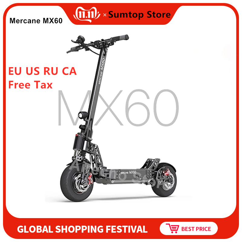 Original <font><b>Mercane</b></font> <font><b>MX60</b></font> Kickscooter 11