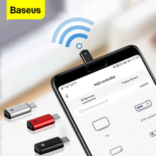 BASEUS Smart Remote Control untuk Micro USB Universal Nirkabel IR Remote Kontrol untuk LG Samsung TV Box Udara Mouse Aircondition(China)